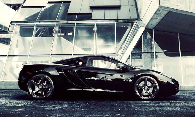 McLaren Rules The Road