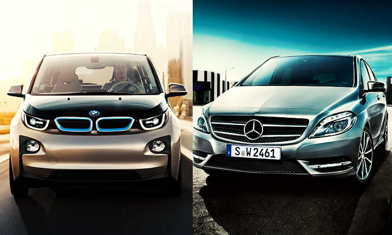 Mercedes-Benz & BMW Traditional Rivalry Keeps Up With New Technology