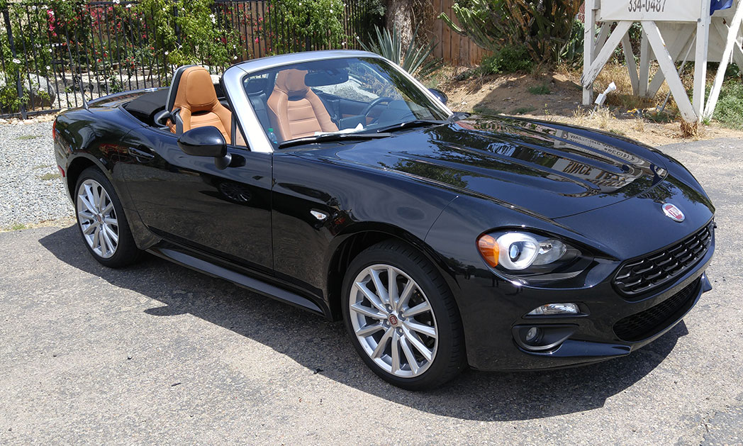 fiat chrysler has a summer hit with new fiat 124 spider roadster. Black Bedroom Furniture Sets. Home Design Ideas
