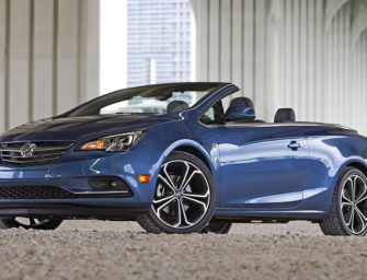 The Buick Cascada — The Convertible As Economic Indicator — Looking Good!