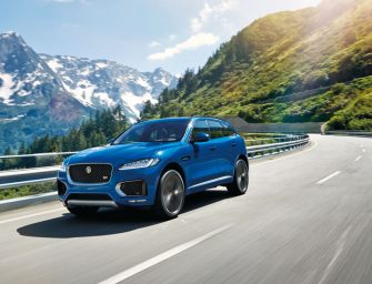 Jaguar Races To The Top Tier of Luxury SUVs with the New F-PACE