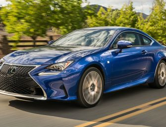 RC F Sport Coupe The Golden Child of Lexus Performance